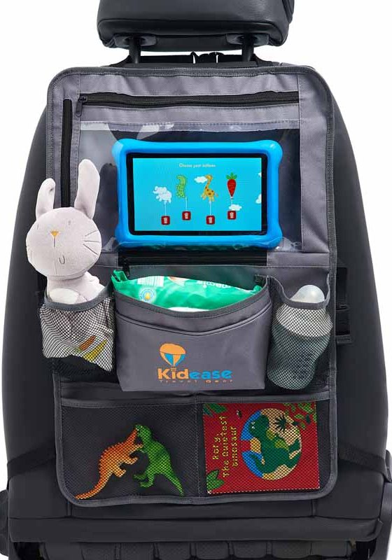 Kidease travel gear back seat organiser and kick mat-9